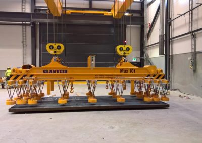 Skanveir Magnetic lifter for Flat plates and cut pieces